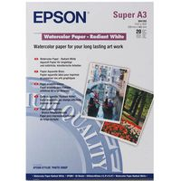 A3+ EPSON Water Color Paper-Radian White C13S041352