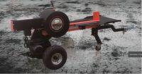 Masina de despicat lemne TechnoWorker BDR-GL-34 TONE