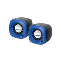 Колонки 2.0 Omega OG15BL, 6 Вт, Blue