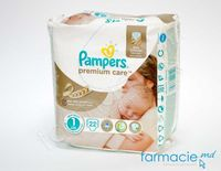 Scutece PAMPERS CARRY PREMIUM CARE New Baby 1 N22 (2-5 kg)