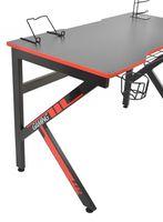 Masa de birou Deco EGame Black/Red