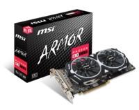 MSI Radeon RX 580 ARMOR 8G OC /  8GB DDR5 256Bit