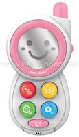 Baby Mix HS-0513 PINK Обучающий телефон
