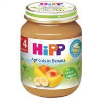 Hipp пюре абрикос и банан 4+мес. 125г