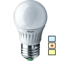 (B) LED (5W) NLL-P-G45-5-230-4K-E27 (Standard)