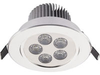 Светильник DOWNLIGHT LED 5 серебр 6822