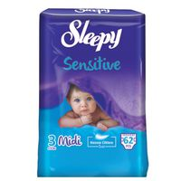 Подгузники Sleepy Sensitive 3 Jumbo Midi