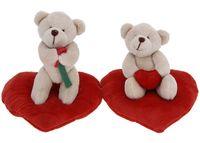 купить Мишка на сердечке, 15X15cm в Кишинёве