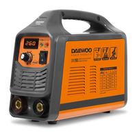 Daewoo DW 260  (8.5 кВт, 1.6-5.0 мм)