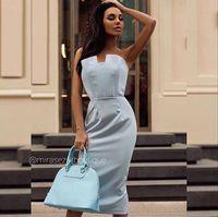 Платье Катарина небесно-голубое