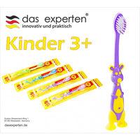 Зубные щетки Das Experten Kinder 3+, Multicolor