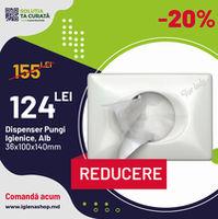 Dispenser Pungi Igienice B5, 36x100x140, Alb
