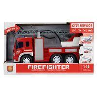 1:16 Инерционная Пожарная машина (свет / звук)