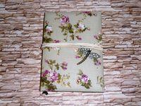 Дневник с кулоном стрекозы