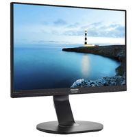 """23.8"""" Philips """"242B7QPTEB"""", Black (IPS, 2560x1440, 5ms, 300cd, 20M:1, DP,HDMI,DSub, USB,Spk,HAS/Pvt) (23.8"""" AH-IPS W-LED, 2560x1440 WQHD, 0.216mm, 5ms GTG, 300 cd/m², DCR 20 Mln:1 (1000:1), sRGB 16.7M Colors True 8-bit , 178°/178° @C/R>10, 30~83 KHz(H)/ 56~76Hz(V), DisplayPort + miniDP+ HDMI + D-Sub, Stereo Audio-In, Headphone-Out, Built-in speakers, USB 3.0 x4-Hub (1 w/fast charging), DisplayPort-out, Built-in PSU, HAS 150mm, Tilt: -5°/+30°, Swivel +/-175°, Pivot, VESA Mount 100x100, PowerSensor, Flicker-Free, Super Narrow Border, Black)"""