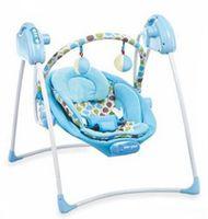 Baby Mix LCP-SW108-007-B Электронные качели голубые