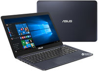 """NB ASUS 14.0"""" E402NA Blue (Pentium N4200 4Gb 1Tb) 14.0"""" HD (1366x768) Glare, Intel Pentium N4200 (4x Core, 1.1GHz - 2.5GHz, 2Mb), 4Gb (OnBoard) PC3-10600, 1Tb 5400rpm, Intel HD Graphics, HDMI, 100Mbit Ethernet, 802.11n, Bluetooth, 1x USB 3.1 Type C, 1x USB 3.0, 1x USB 2.0, Card Reader, Webcam, Endless OS, 2-cell 32 WHrs Li-Ion Battery, 1.65kg, Blue"""