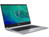 "ACER Swift 3 Sparkly Silver (NX.HPMEU.00X), 14.0"" IPS FHD (Intel Core i3-10110U 2xCore, 2.1-4.1GHz, 8GB(2x4) LPDDR4 RAM, 512GB PCIe NVMe SSD, Intel UHD Graphics, WiFi-AC/BT 5.0, FPR, Backlit KB, 3cell, HD Webcam, RUS, Linux, 1.60kg, 17.95mm)"