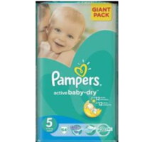 Pampers Scutece Giant Pack 5, 11-18 kg, 64 buc.