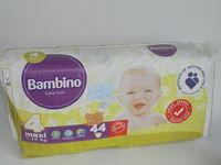 Детские подгузники BAMBINO maxi 44 piecies(7-18kg) -4