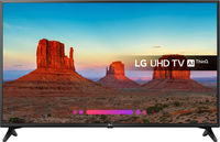 TV LED LG 43UK6200PLA, Black