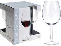 Set pahare pentru vin rosu Vinissimo 4buc, 580ml, H21сm