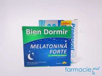 Bien Dormir Melatonina Forte caps. N10+ Cadou