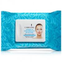 купить CARELINE Салфетки для удаления макияжа с кожи лица и области глаз в Кишинёве
