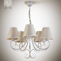 купить N&B Light Люстра Женева 6205-3 бело-золотая структура/блестящий беж в Кишинёве