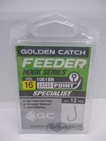 Крючки Golden Catch Feeder Nr16, 12шт