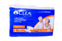 Подгузники для взрослых CLEA LARGE 30 штук