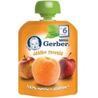 Gerber пюре яблоко, абрикос,6+ мес., 90 г