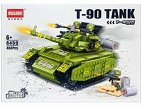 Конструктор HSANHE Танк Т-90, 45X32.5X6cm, 450дет.