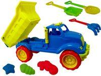 Набор игрушек для песка в машине Мега 7ед, 59X30cm
