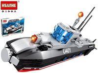 Конструктор HSANHE Подводная лодка 40.5X29.5X6cm, 432дет.