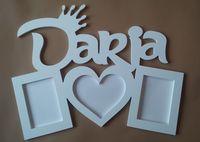 Фоторамка из гипса (Daria)