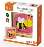 Viga Stacking Cube Puzzle - Insect (50158)