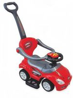 Baby Mix UR-Z382 Машина детская 2в1 Красная