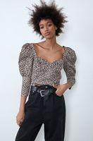 Bluza ZARA Imprimeu leopard bej zara 7385/001/051