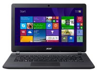 """NB Acer 13.3"""" Aspire ES1-311-C01Y (Celeron N2940 4Gb 500Gb) 13.3"""" HD (1366x768) Glare, Intel Celeron N2940 (4x Core, 1.83GHz - 2.25GHz, 2Mb), 4Gb (1x 4Gb) PC3-12800, 500Gb 5400rpm, Intel HD Graphics, HDMI, 802.11bgn, Bluetooth, 1x USB 3.0, 1x USB 2.0, Card Reader, HD Webcam, Linux, 3-cell 3220mAh Li-Ion Battery, 1.6kg, Black"""