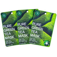 Pure Green Tea Mask Pack Tosowoong