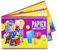 INTERDRUK Бумага цветная INTERDRUK Fluo B5, 8 листов самоклеющаяся