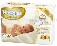 Huggies Elite Soft 2 (4-7 кг.) 27 шт.
