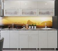 Кухонный гарнитур Bafimob Modern (High Gloss) 2.4m glass Beige