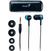 cumpără Genius HS-905BT Bluetooth stereo headset for music and calls, volume control,  Stereo mini jack; Music Playing Time: up to 6 hours; Answering/ending calls, Play/Pause, Volume up/down, Next/Prev. track; 3 sizes ear pieces, Black/Blue (31710166100) în Chișinău