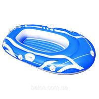 Лодка одноместная надувная (157см х 102см)
