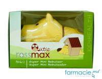 Nebulizer Rossmax NI60 Qutie (pt copii) cu zgomot redus