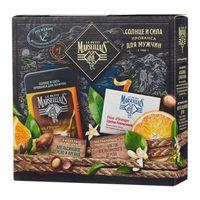 Подарочный набор Le Petit Marseillais Гель-шампунь для душа Апельсин и Арган + Твердое мыло для тела с экстрактом Цветка апельсинового дерева