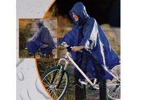 Дождевик для велосипедистов с капюшоном