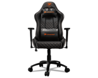 Gaming Chair Cougar ARMOR PRO Black, User max load up to 120kg / height 155-190cm